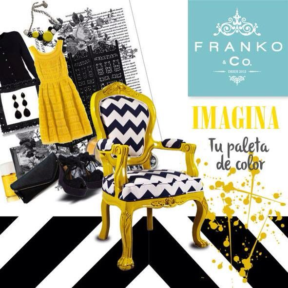 Imagina tu paleta de color favorita en tu decoración! Nuestros muebles Franko & Co. Son diseñados especialmente para ti!