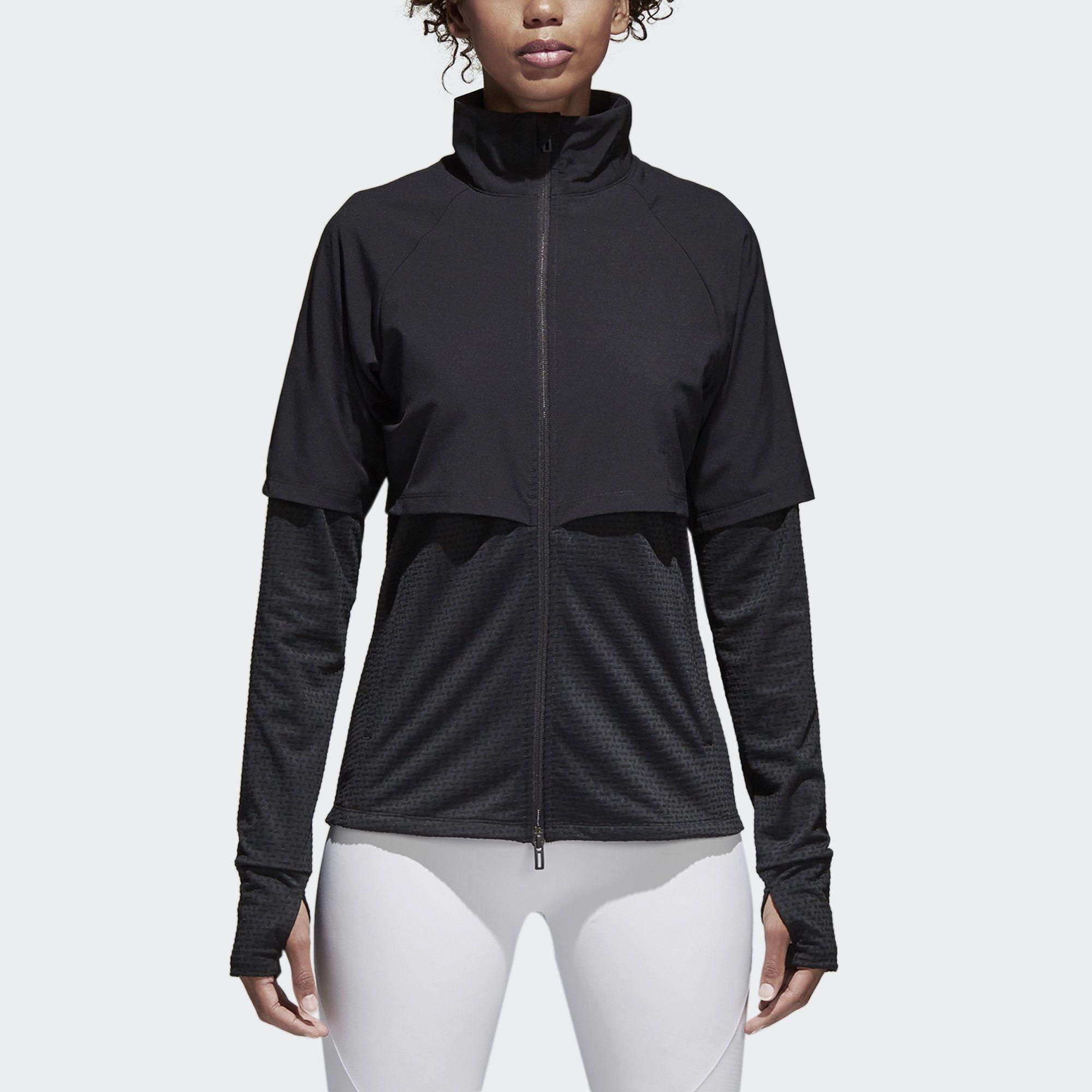 Куртка Climalite Transitional adidas Performance в 2018 г.   Женская ... e9493969687