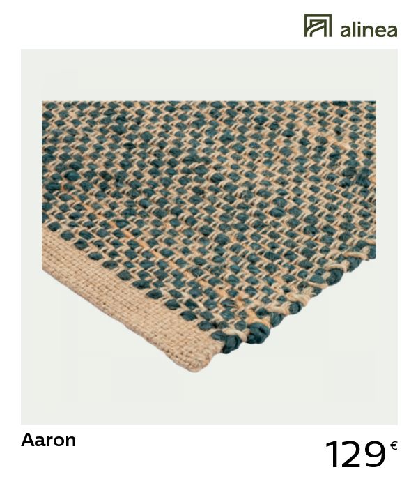 alinea decoration aaron tapis tresse
