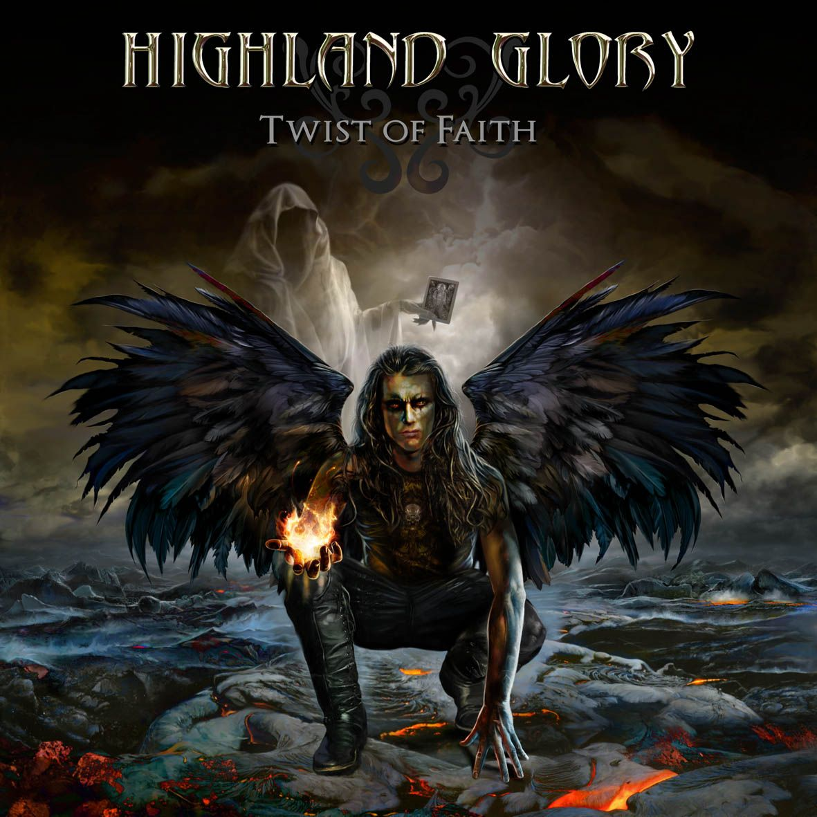 Highland Glory (Norway) [2011] Twist Of Faith {Power Metal}