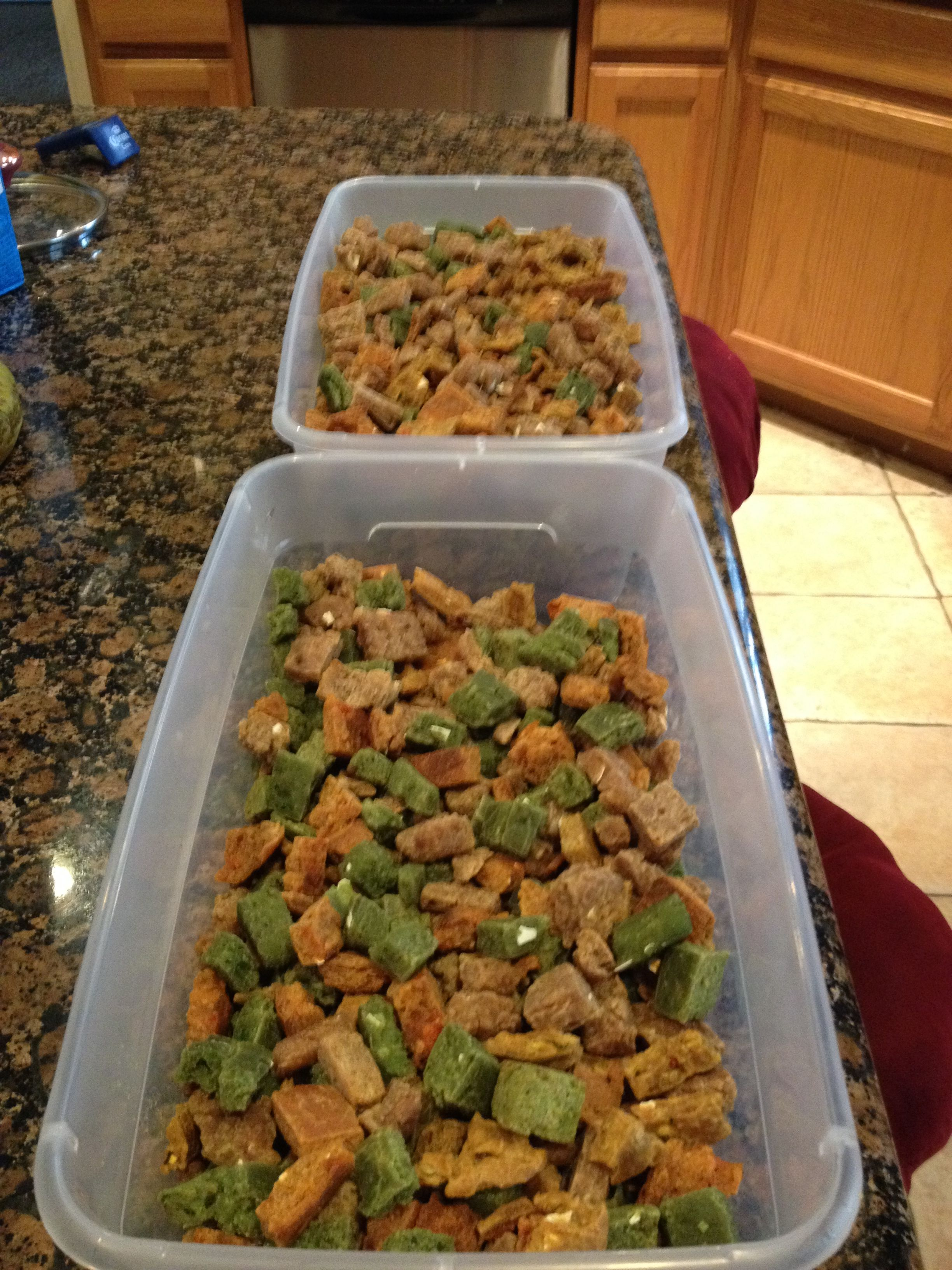 Homemade Dry Dog Food I Made For The Babies Healthy Dog Food