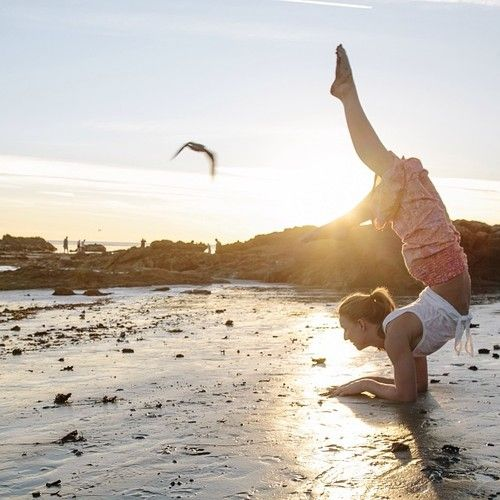 With this heat wave, it's the perfect time to bring yoga to the beach. Check out the top yoga moves for pre and post surfing on the swell's blog! http://blog.swell.com/Yoga-for-Surfers