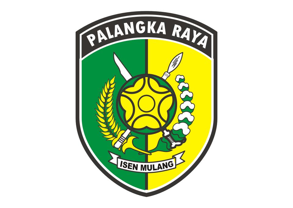 Logo Kota Palangkaraya Vector Model Rambut Pengantin