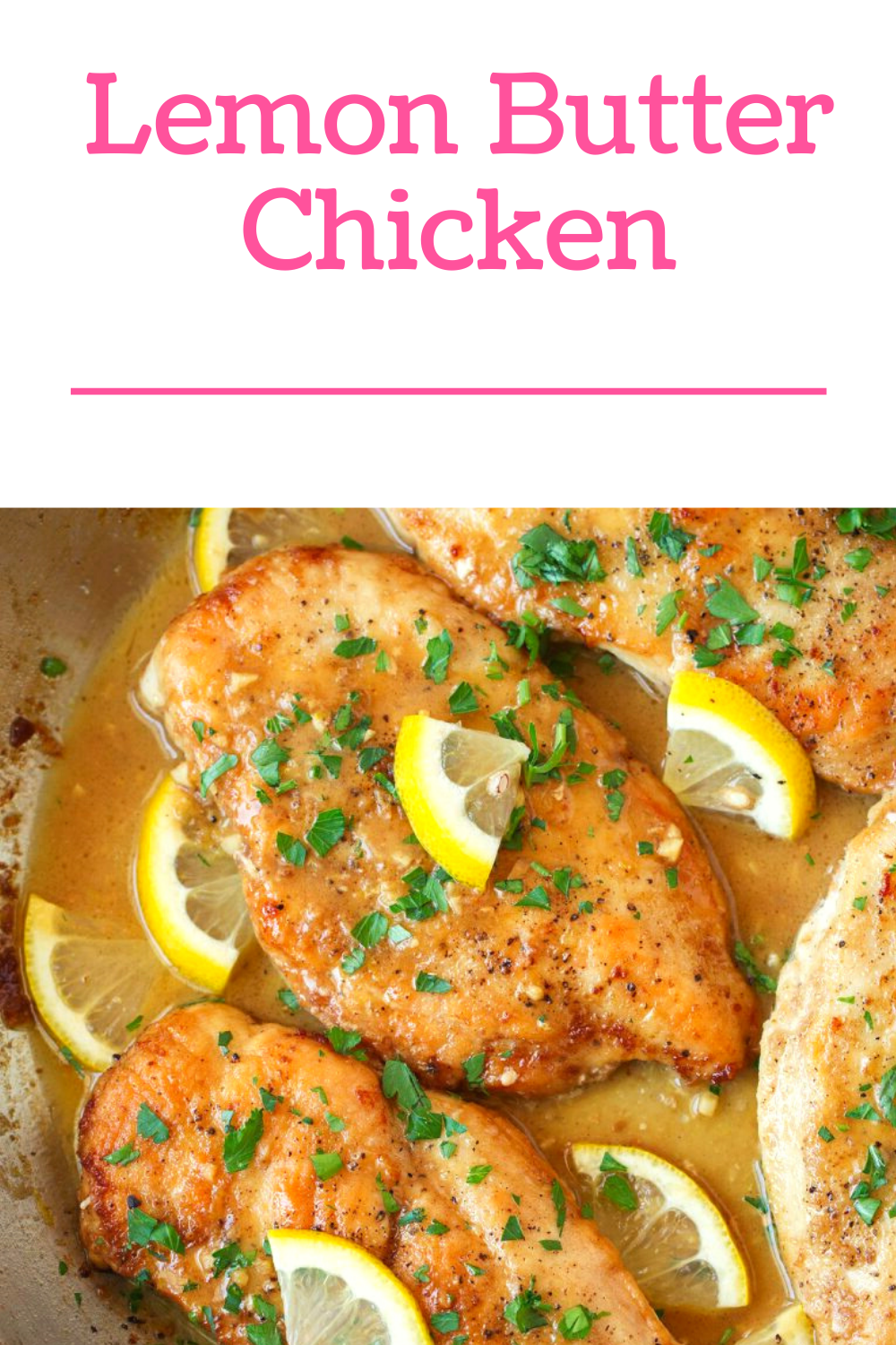 Lemon Butter Chicken