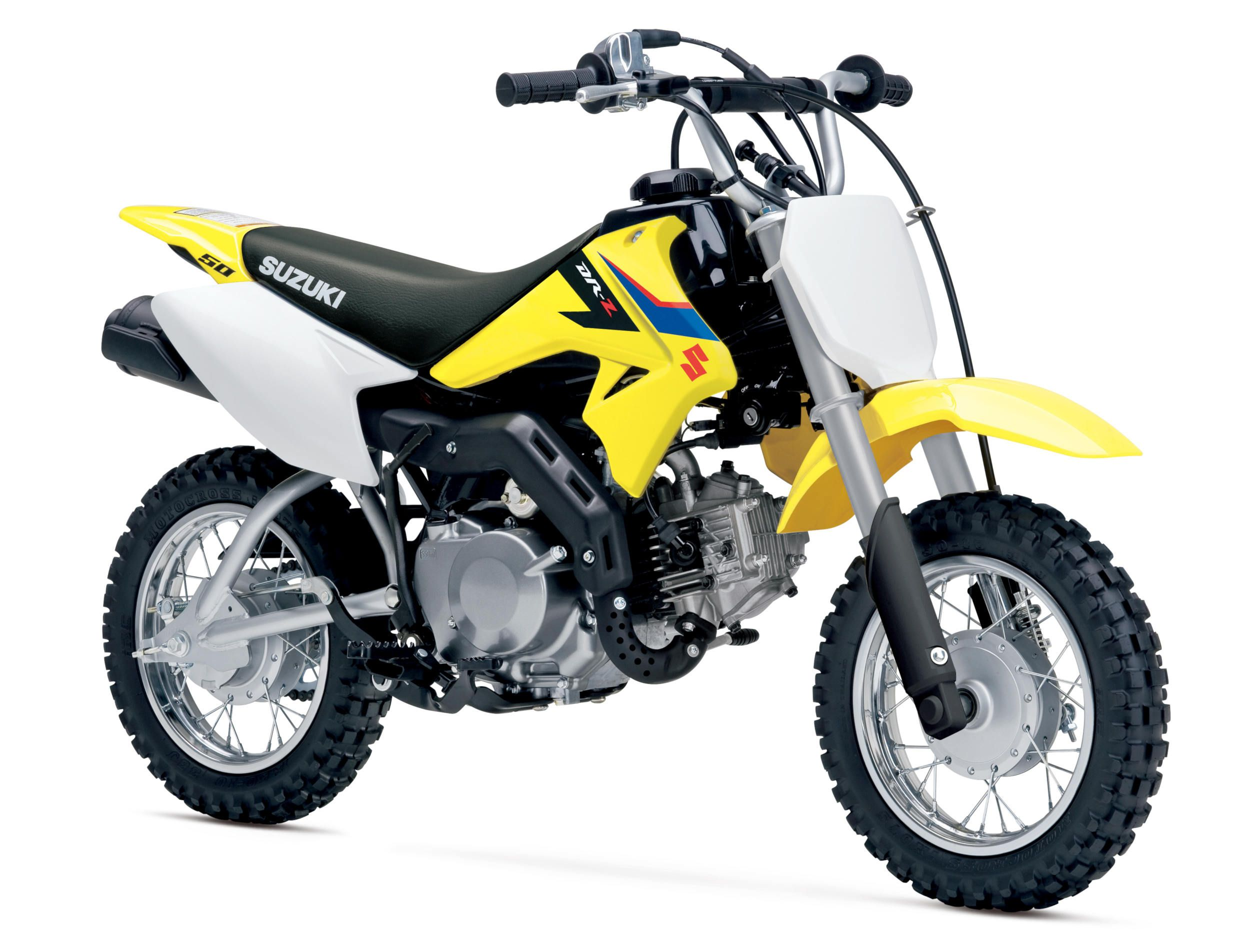 Suzuki Unveiled A Small 49cc Motocross For The Young Guns Cool