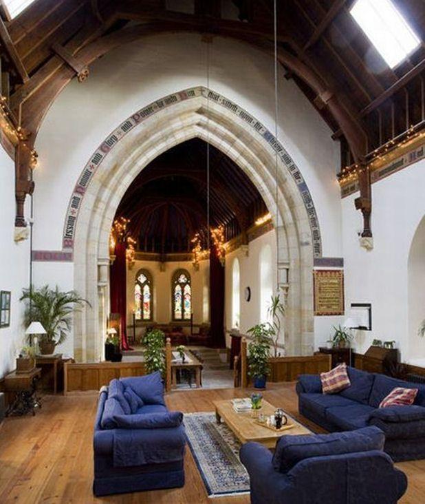 Une église transformée en maison