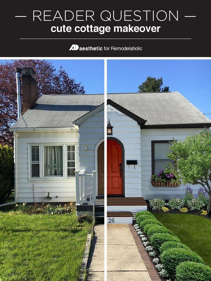 A Dated Home Gets A Fresh Look In This (virtual) Cute Cottage Makeover!