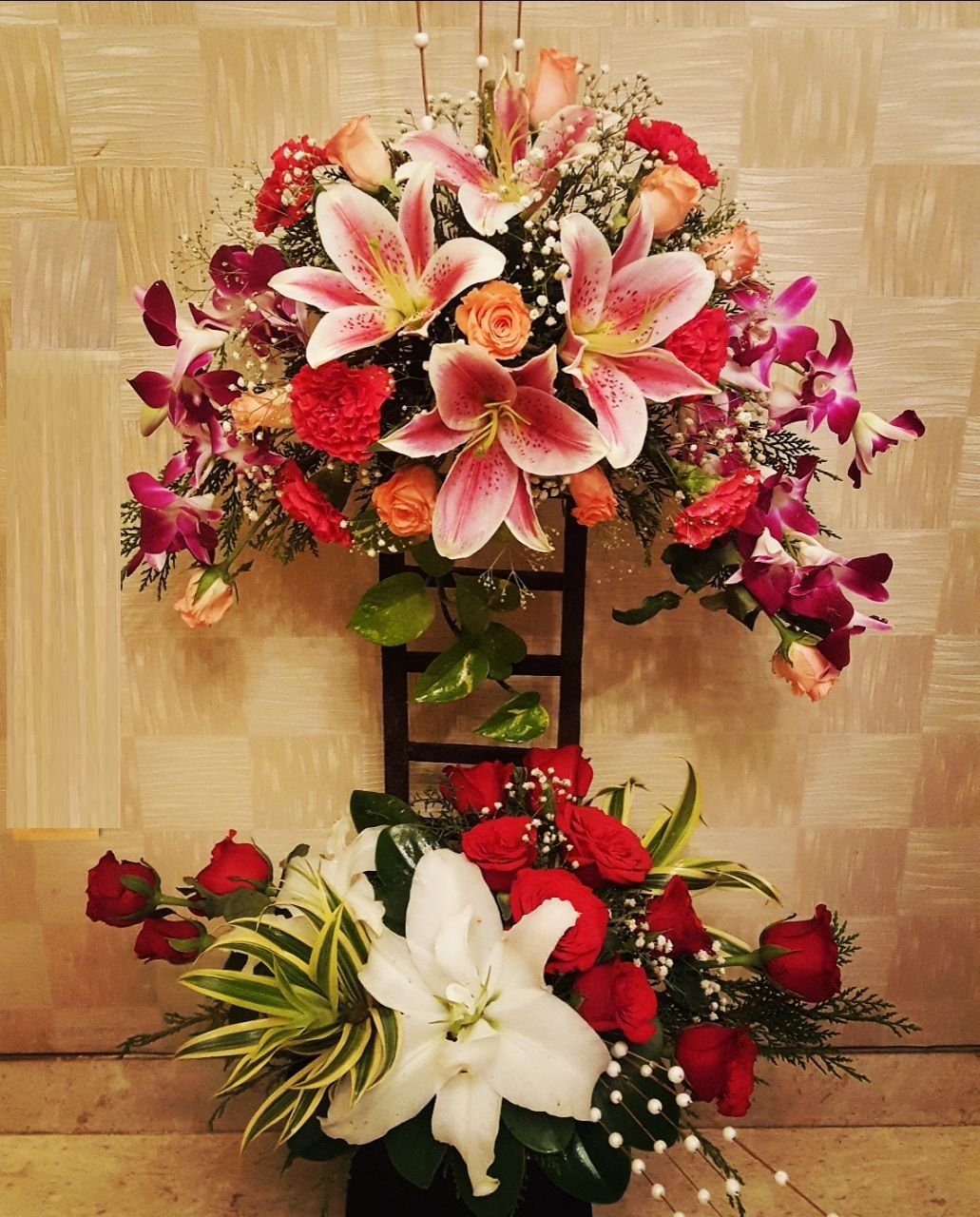 Lilies bouquet in various ranges are available for delivery in lilies bouquet in various ranges are available for delivery in mumbai order bouquet of lily with beautiful style and colors online delivery in mumbai izmirmasajfo