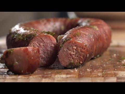 Kohlwurst selber machen - YouTube | Würstchen, Rezepte mit