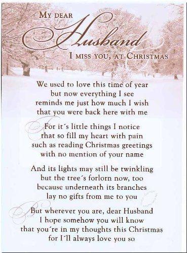 Poems For Deceased Husband 6