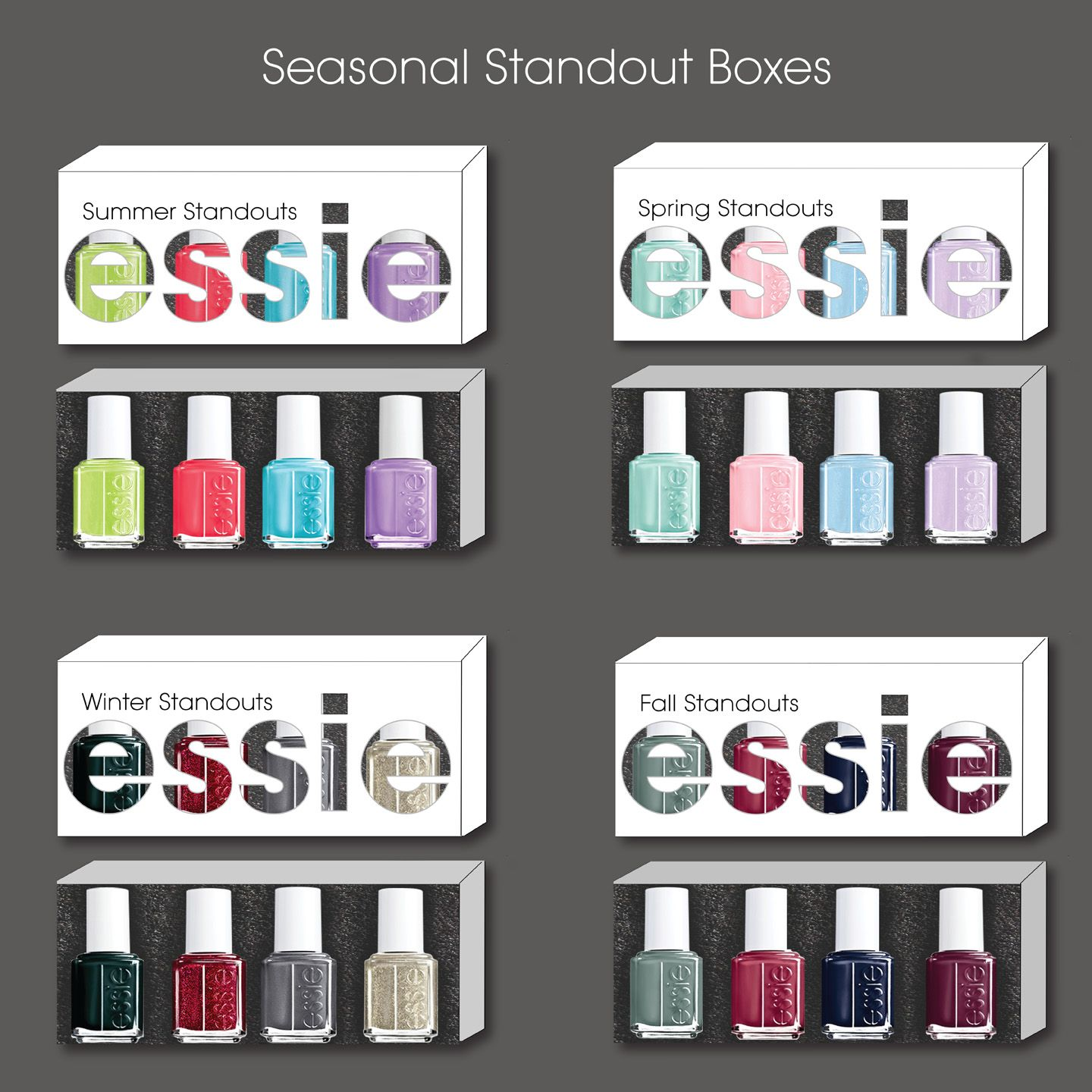 Image result for essie nail polish box package | HP Boots ...