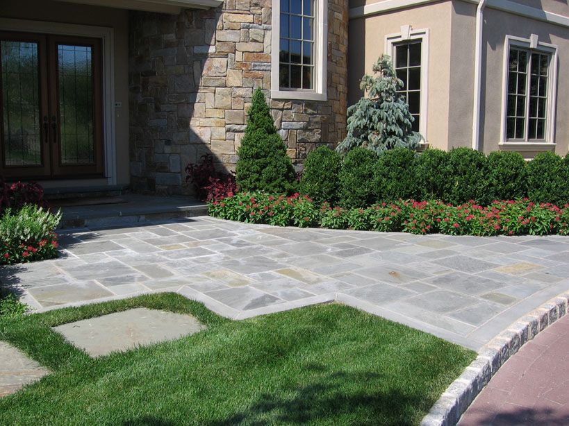 Landscaping ideas by nj custom pool backyard design for Unique front yard landscaping ideas