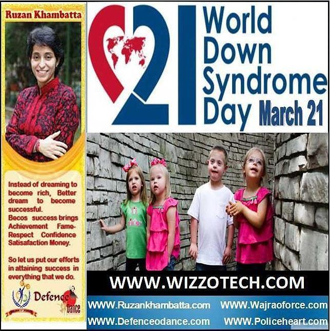 World Down Syndrome Day World Down Syndrome Day (WDSD) is observed on March 21. On this day people with Down syndrome and those who live and work with them throughout the world organize and participate in activities and events to raise public awareness and create a single global voice for advocating for the rights inclusion and well being of people with Down syndrome. Many of these events are recorded on the official World Down Syndrome Day website #youthicon #motivationalspeaker…
