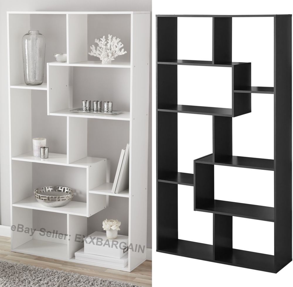 Details About Tall Bookcase Cubby Large Open Bookshelf