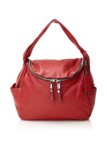 0df3990fec56 60% OFF orYANY Handbags Women s Holly Shoulder Bag (Scarlet Red ...