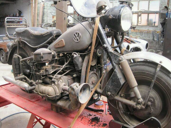 Vw Motorcycle Made In Brazil Made In The 60 S And Early 70 S