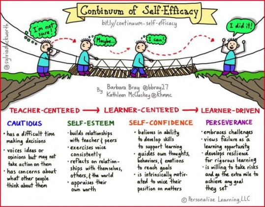 Selfefficacy holds significant implications both for learners and educators in the journey to nurture high levels of skill and knowledge T