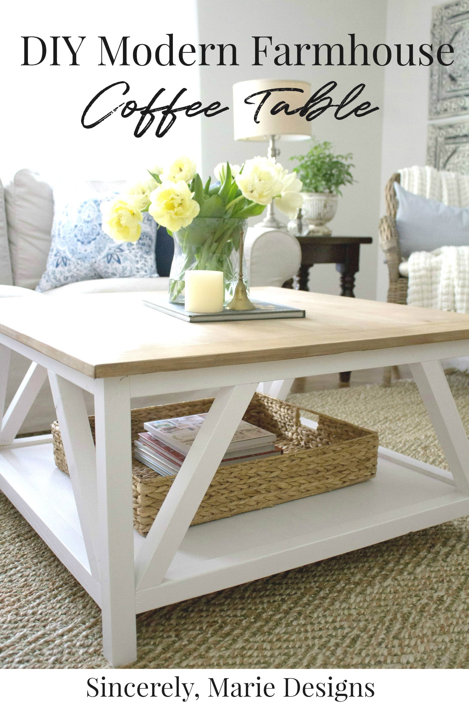 Diy Coffee Table With Truss Sides Diy Farmhouse Coffee Table Cool Coffee Tables Coffee Table Plans [ 1250 x 735 Pixel ]