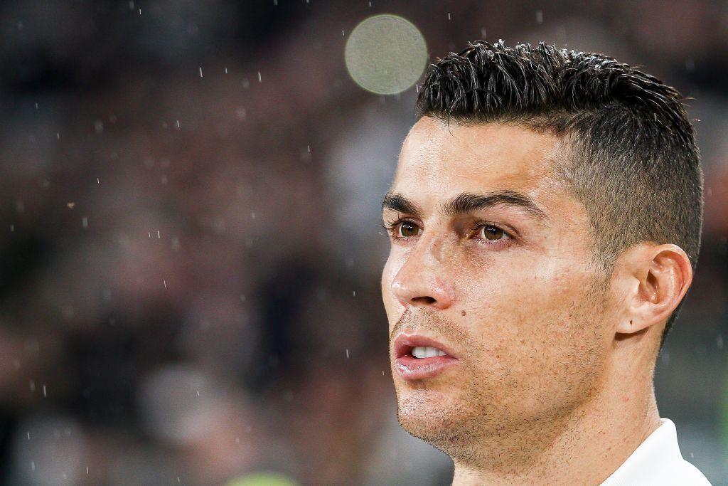 Juventus Forward Cristiano Ronaldo During The Serie A Football Match Cristiano Ronaldo Ronaldo Cristiano Ronaldo 7