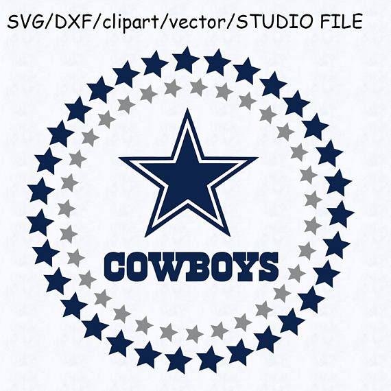 Dallas Cowboys Circle Logo Svg Dallas Cowboys Logo Dxf Dallas Cowboys Logo Dallas Cowboys Clipart Dallas Cowboys