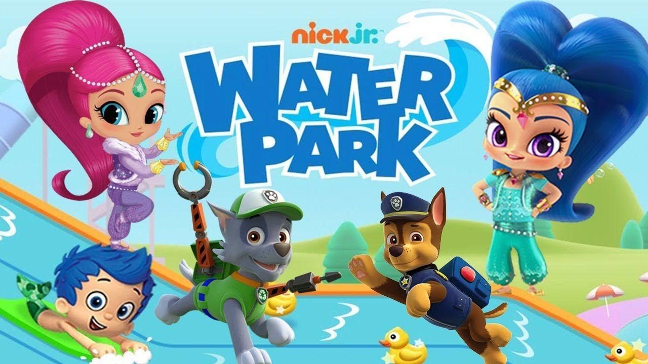 Nick Jr. PAW Patrol, Shimmer & Shine, Blaze Water Park