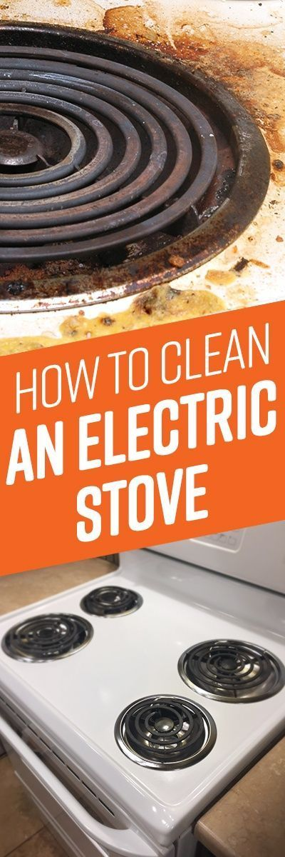 How To Clean Electric Stove Top Cleaning Tips Limpieza Casa Limpiar