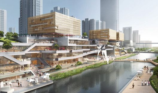 Benoy Releases Images Of New Waterfront Development In