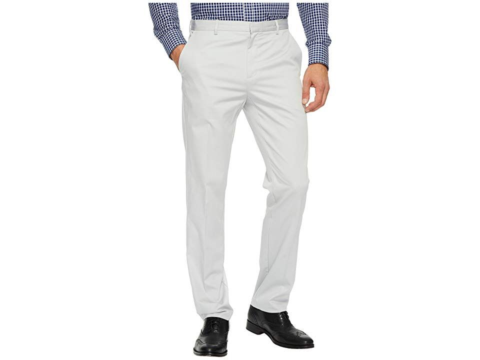 Calvin Klein Slim Fit Refined Twill Pant Grey Violet Mens Clothing Confidence comes easy when youre in a stylish Calvin Klein Twill Pant Refined twill pant narrows throug...
