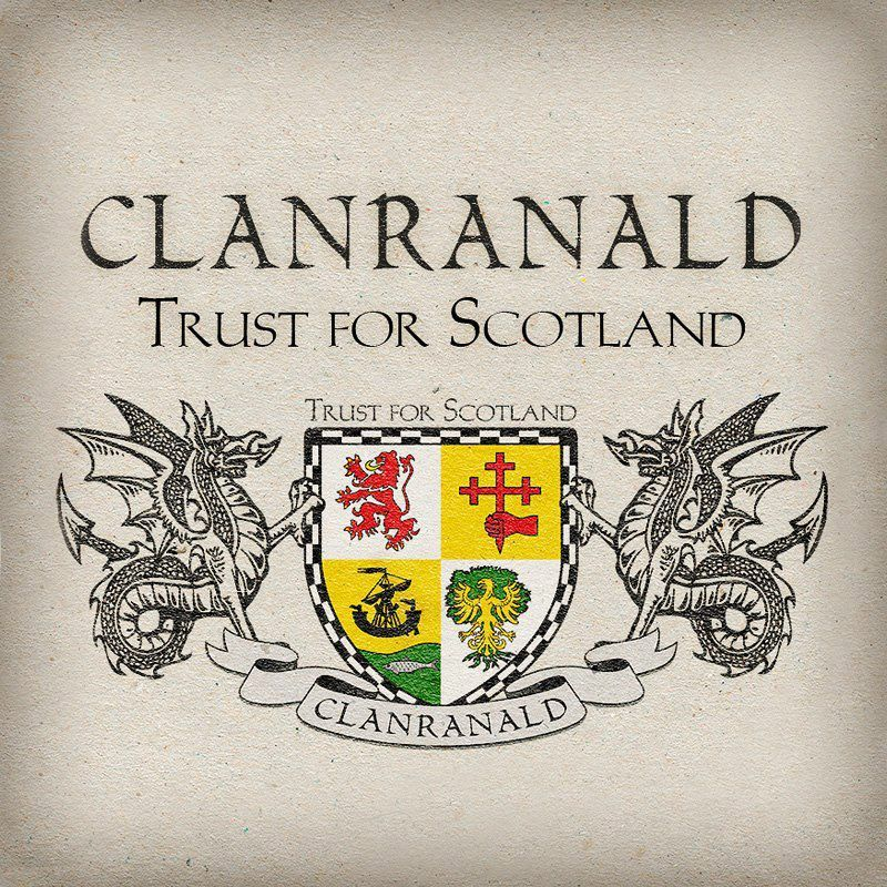 Clan Donald Sterling Silver and Karat Gold Clan Crest Scottish Cufflinks; Pewter MacDonald