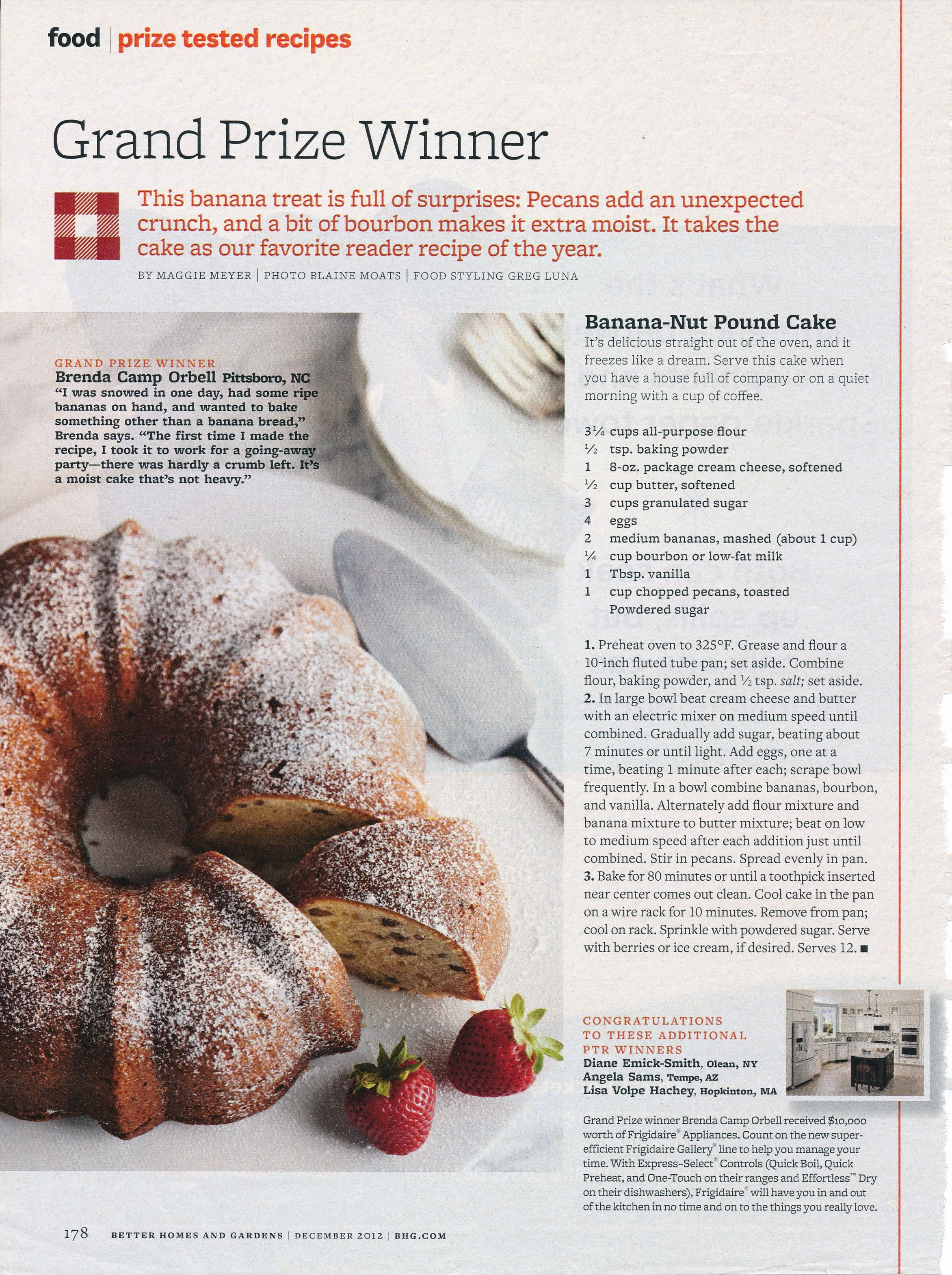 4041f6e26fd8c60cd3a96bf7cb8cd166 - Banana Nut Pound Cake Better Homes And Gardens