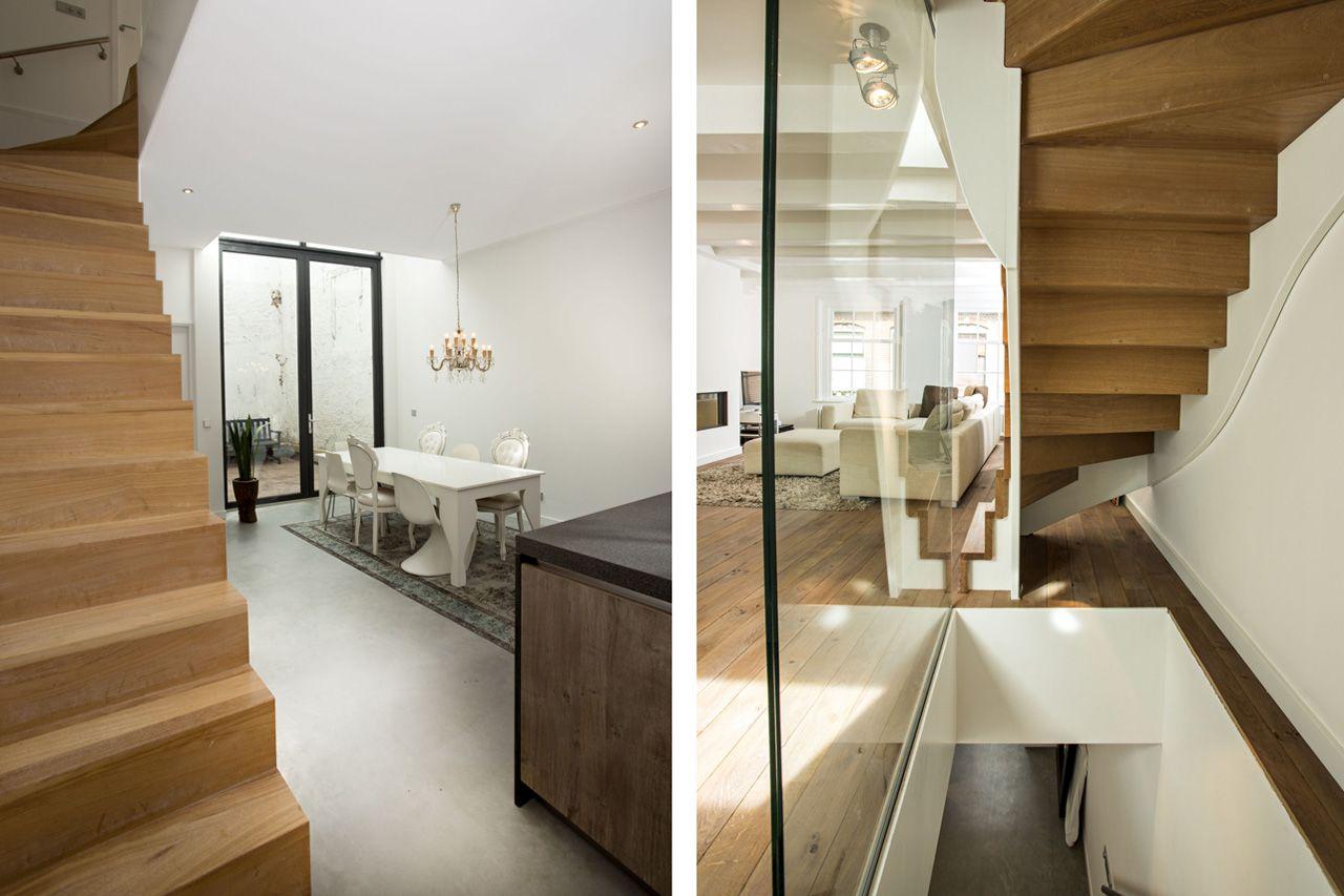 Keuken Met Trap : Keuken en trap verbouwing kokstraat haarlem pinterest