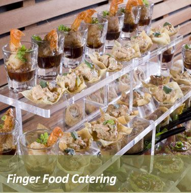 Asian Bar Wedding Food Catering Food Finger Food Catering