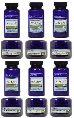 Revitol Acnezine Acne Kit 6 Month Supply By Acnezine Kit