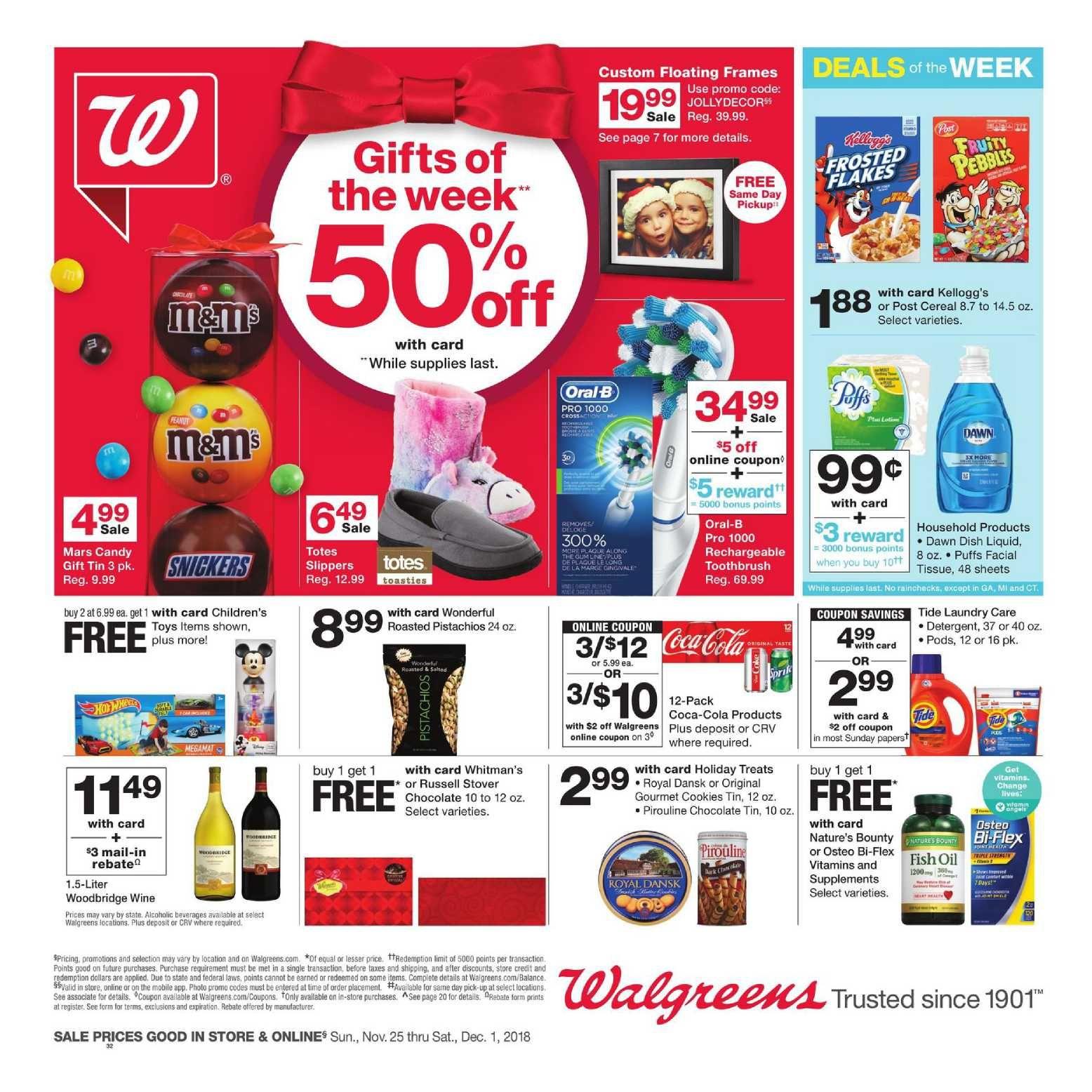 Walgreens Weekly Ad Jan 31 Feb 6 2021 Walgreens Sneak Peek Preview Weeklyad123 Com Weekly Ad Circular Grocery Stores Weekly Ads Walgreens Digital Coupons