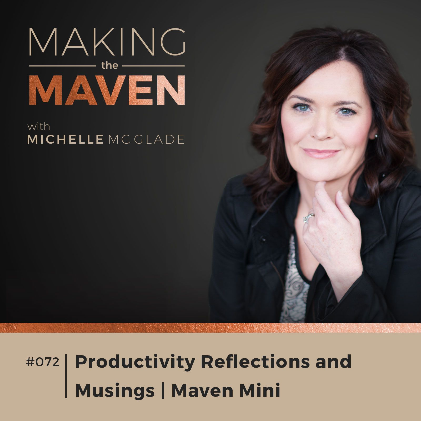 I want to share takeaways that I've experienced as I built a business that fit more of my lifestyle needs in this Productivity Reflections and Musings episode.