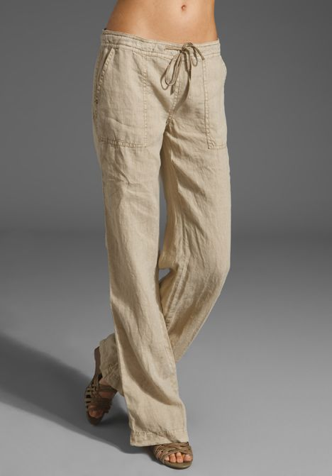 Linen Drawstring Pant | Summer, Pants and Linen pants