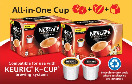 nescafe canada coupon save 200 on sweet and creamy for keurig new - Cheap Keurig