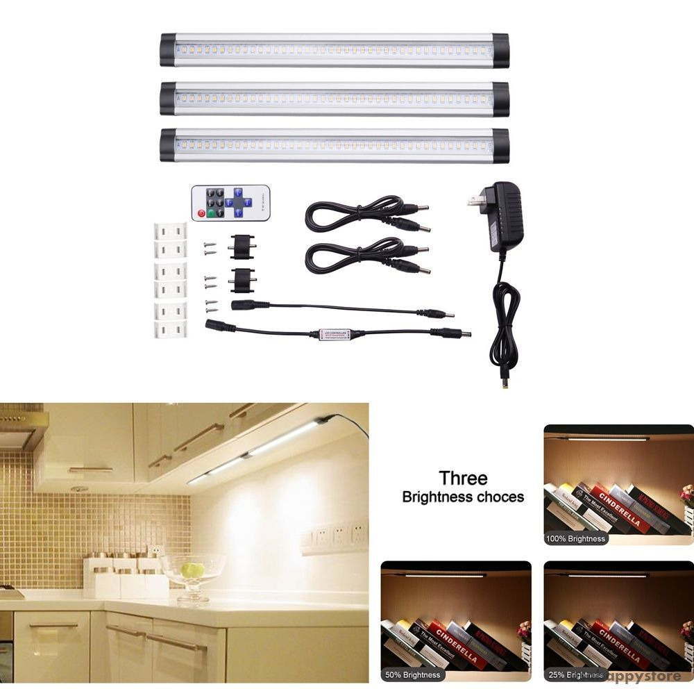 Under Cabinet Lighting Kit Kitchen Counter LED Light Bar ...