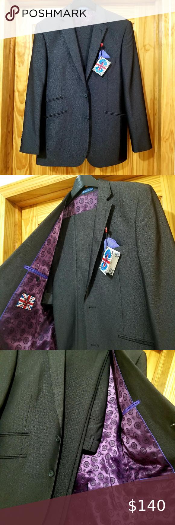 English Laundry Mens Suit Black Suit Men Mens Suit Brands Black Three Piece Suit [ 1740 x 580 Pixel ]