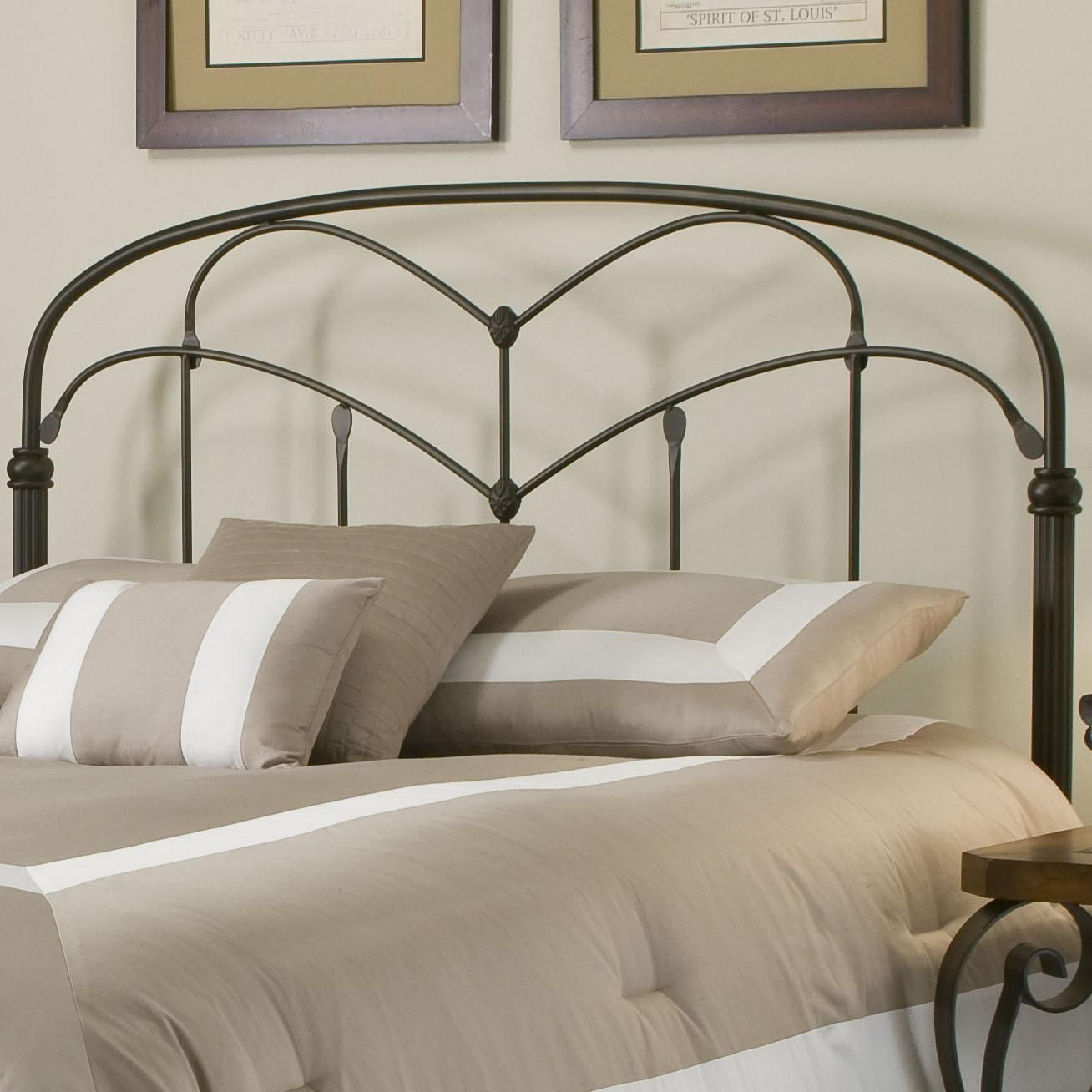 Metal Beds King California King Pomona Headboard By Fashion Bed Group Bed Styling Bed Bedding Shop