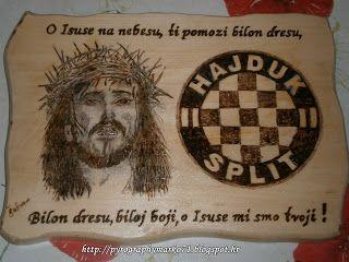 Pyrographymarko: O ISUSE NA NEBESU,TI POMOZI BILON DRESU....