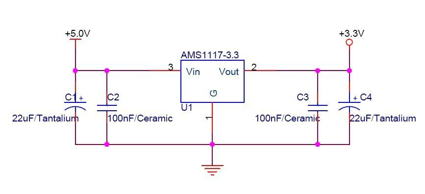 Choosing the right Capacitor for powering Esp 12-E using