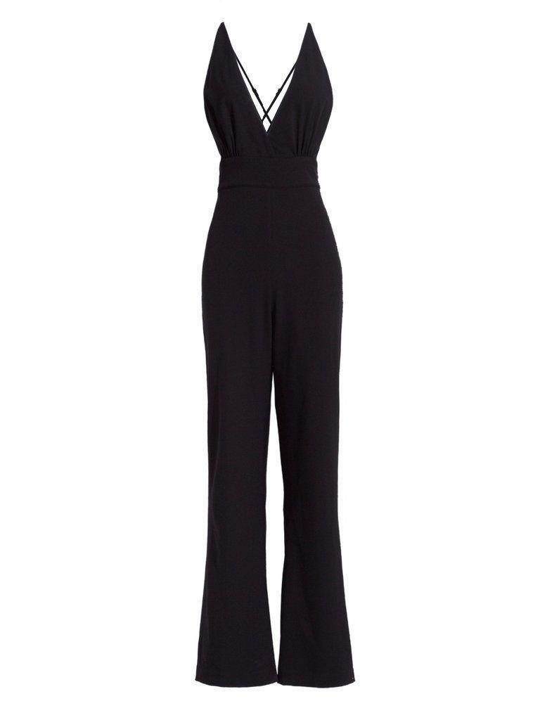 73e2365787 Black Long Sleeve Jumpsuit