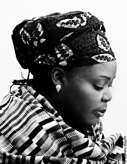 Nobel Peace Prize Winner Leymah Gbowee of Liberia.  So proud of our women