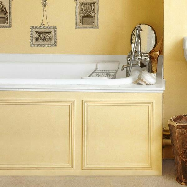 Good tips for tub surround, cement board for top | Bathroom Ideas ...