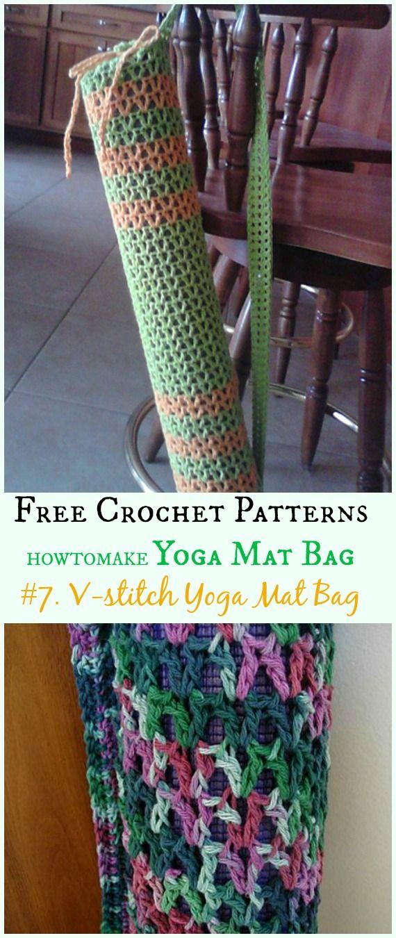 Crochet Yoga Mat Bag Free Patterns Yoga Mat Bag Pattern Crochet Case Yoga Mat