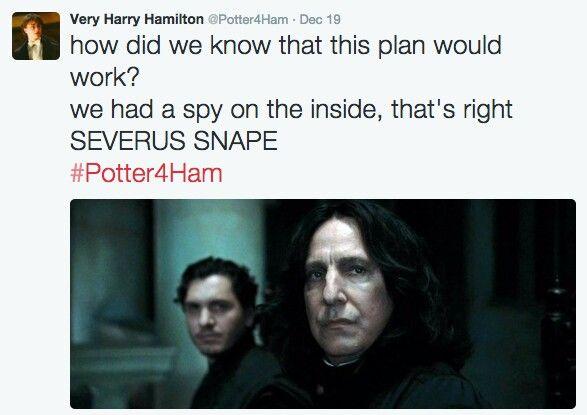 Potter4ham Harry Potter Funny Harry Potter Memes Hamilton