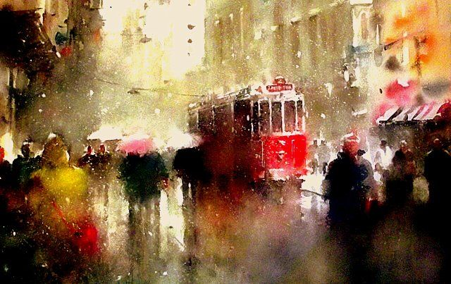 Art Of Watercolor: Orhan Gurel, Turkey