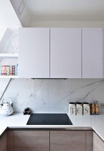 Deco credence cuisine tendance marbre