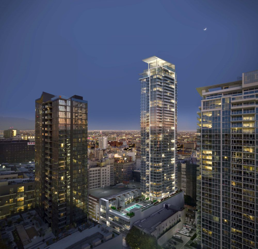 Introducing 825 South Hill, A 53-story Tower At The Heart